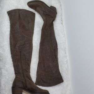 ALDO thigh high boots sz 7